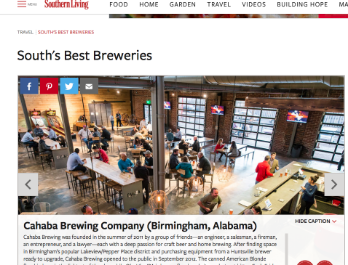 Southern Living: South's Best Breweries