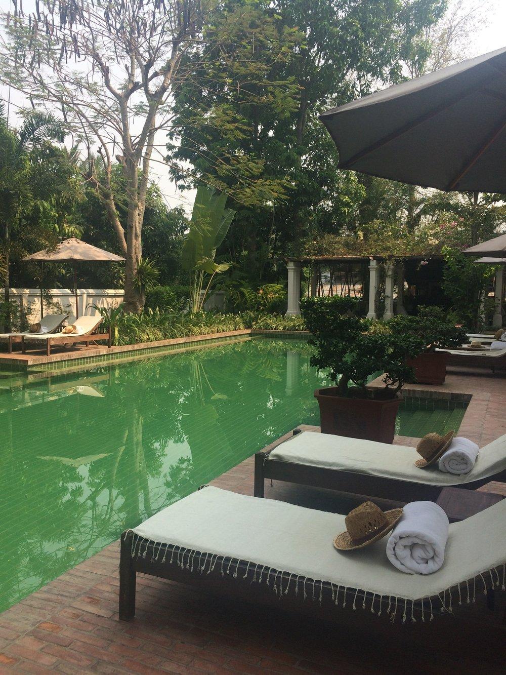 The Satri House pool