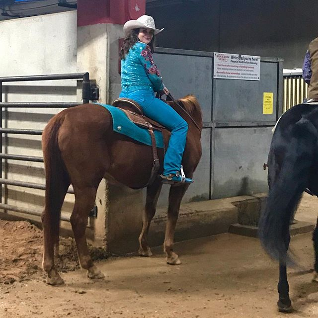 Rodeo queen.