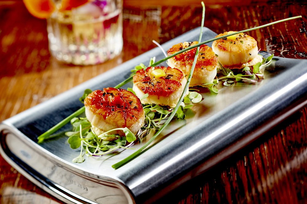 Seared Hawaiian Scallops