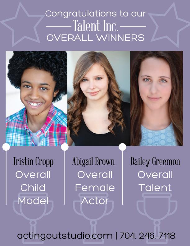 Talent Inc. August 2016 winners