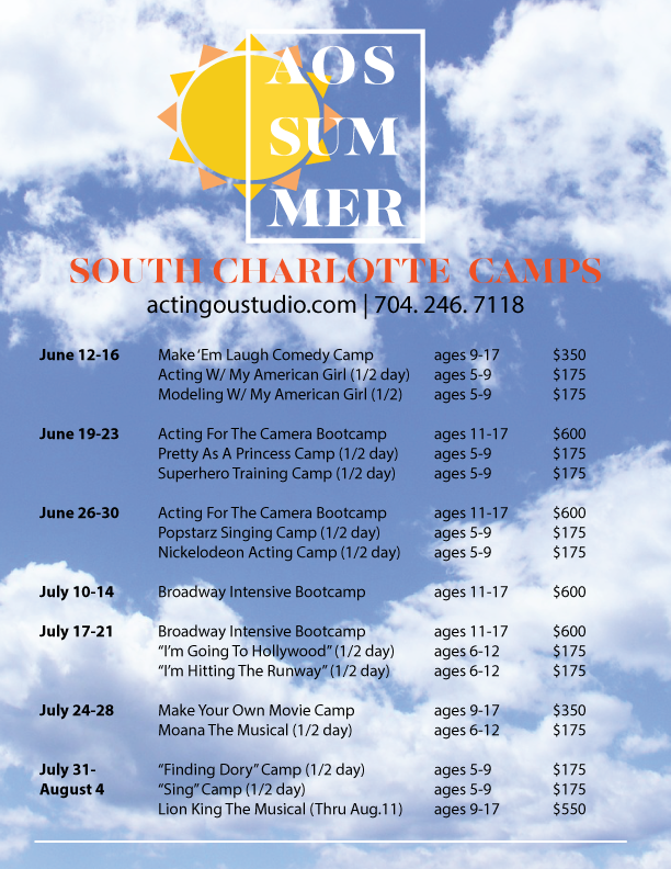 SOUth charlotte camps