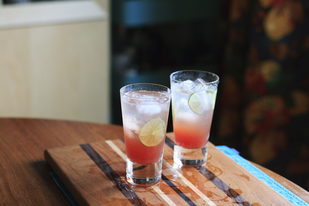Blood Orange Cardamom Soda