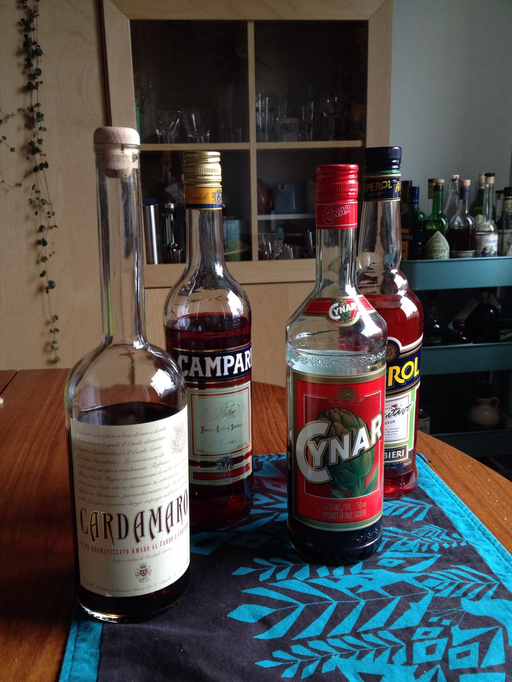 Potable Bitters Options for a Boulevardier