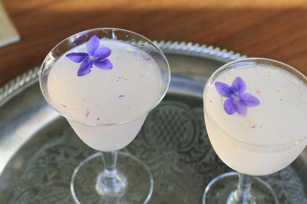aviations with muddled violets