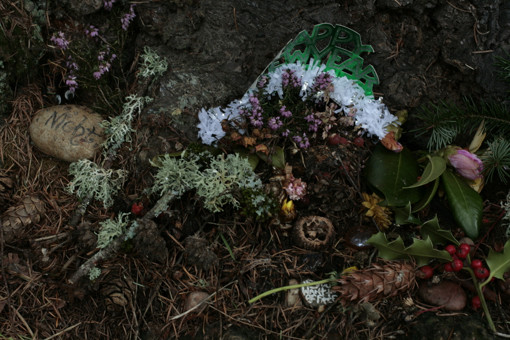 Found: A New Year's Altar in the Woods