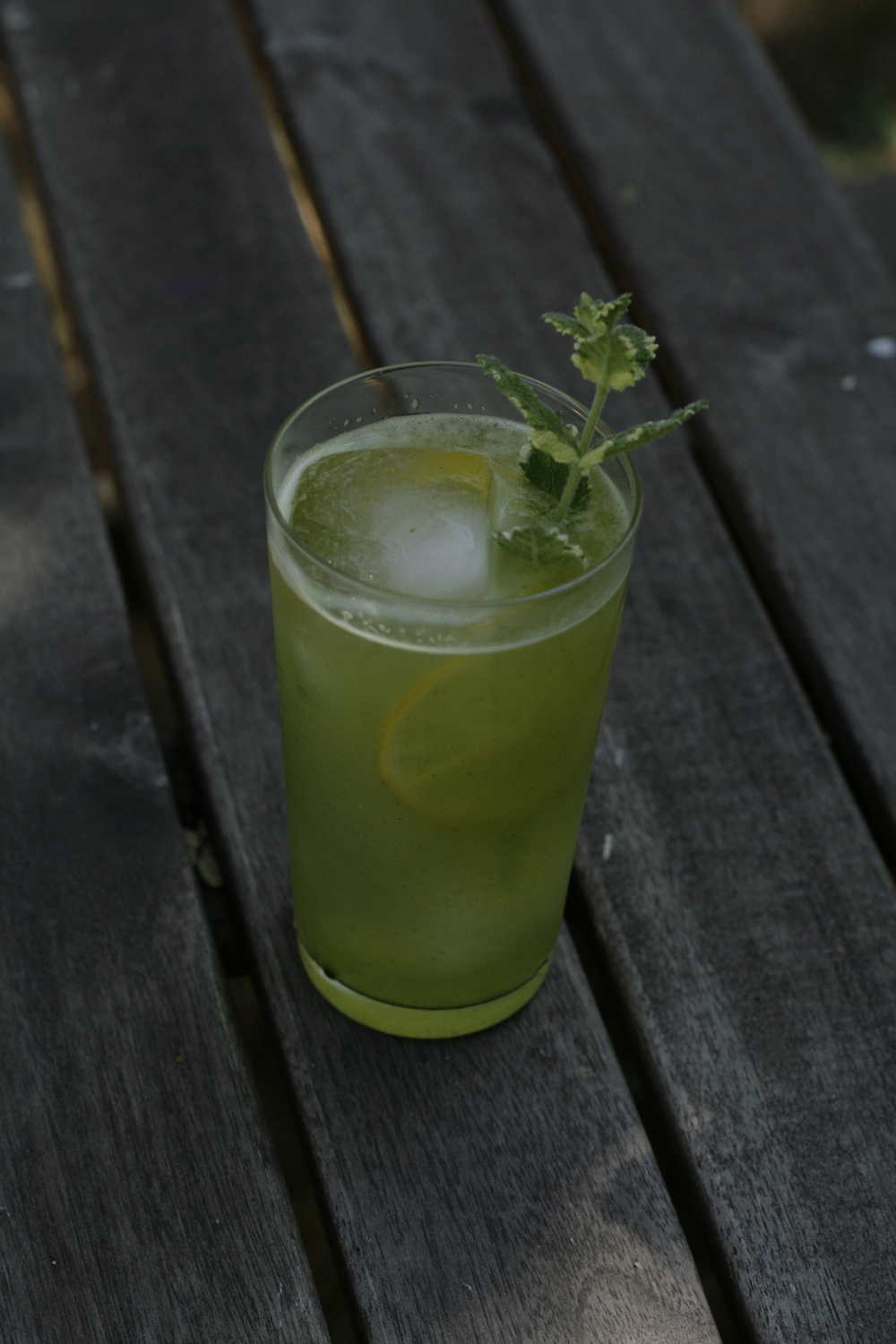 pretty purslane lemonade