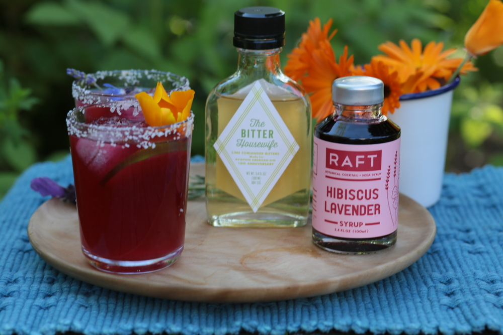 RAFT syrup and Bitter Housewife Garden Party