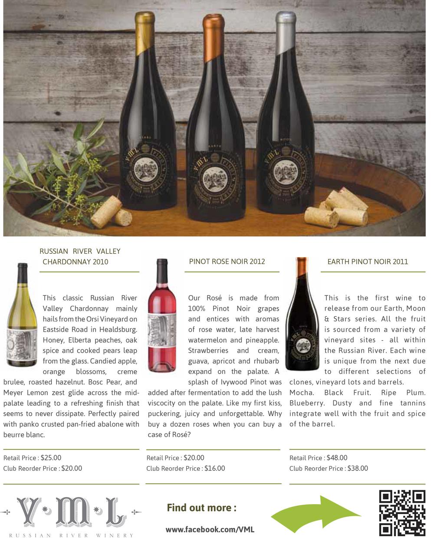 Wine Club Shipment Newsletter