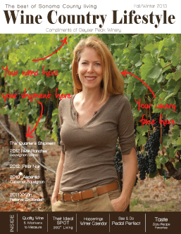 Wine Country Lifestyle Design, Print and Magazine Services