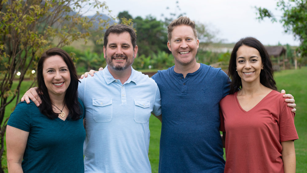 Leadership Team 2018 - CO Belo Horizonte (L to R: Melanie Rogers, Demps Dempsey, Jon Elam, Priscila Albuquerque)