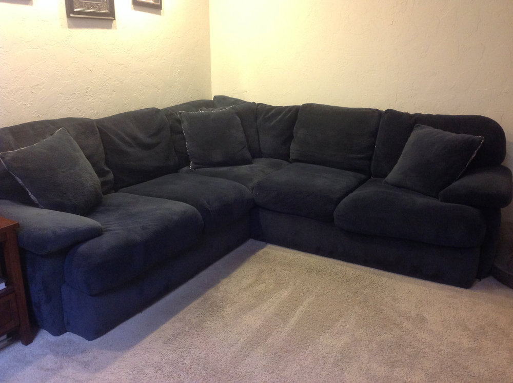 Couch for Sale It is only 3 years old, purchased at Mor Furniture. We would like $250 OBO if possible. It is very comfortable. If you have any questions, please feel free to call or text  Jason Brady (760)443-3217, or email.