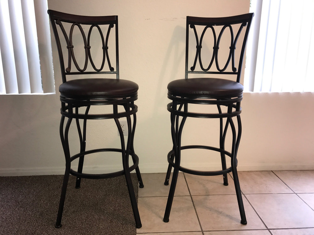 $20 each for these Better Homes and Gardens Bar stools- ready for pickup anytime. Practically new.  Call Truman Butler 504-722-8886 or email trumanandashley@gmail.com if you would like them. Items need to be picked up.