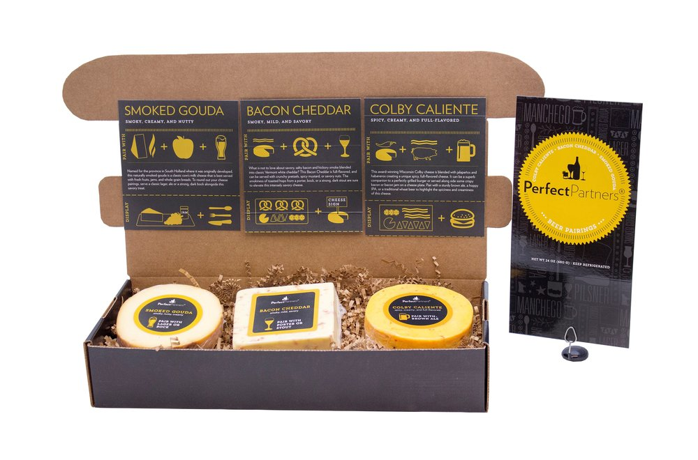 Cheese for Beer Box Pairing