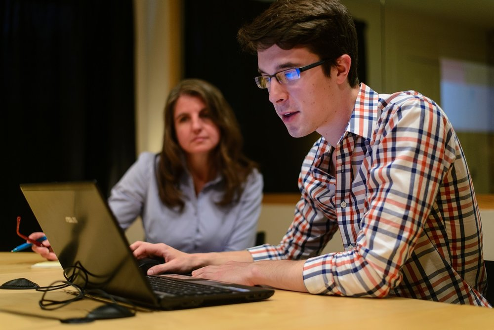 Image of Usability Testing Session