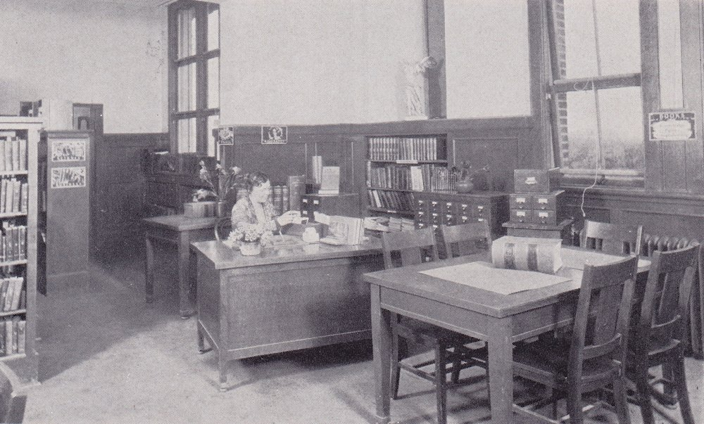Library, c. 1923