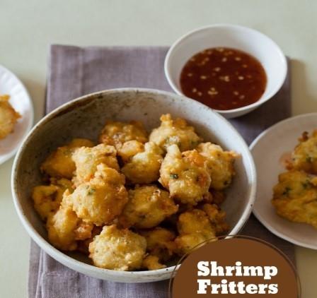Shrimp Fritters Guadaloupe