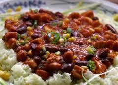 Puerto Rican Red Beans & Rice