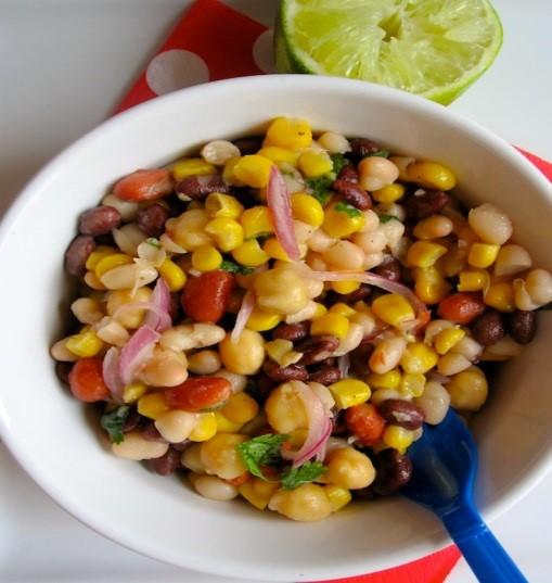 Beans & Corn Salad