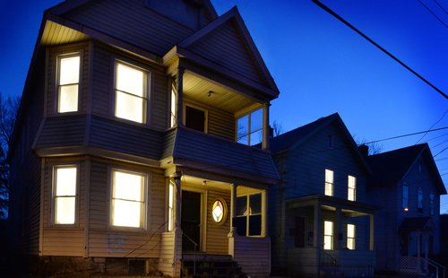 For Two Months In Fall 2016 Breathing Lights Illuminated The Street Facing Windows Of Hundreds Vacant Buildings Neighboring Cities Albany