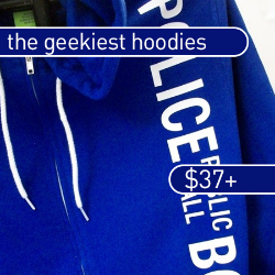 The best geeky hoodies