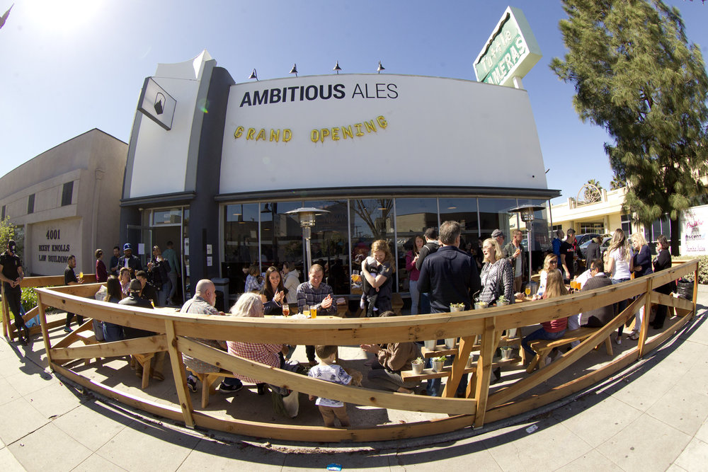 Ambitious Ales Grand Opening on February 16th, 2019.