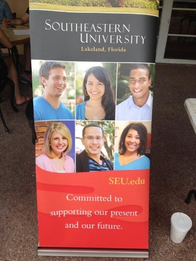 {Made it onto a Southeastern University Alumni poster}