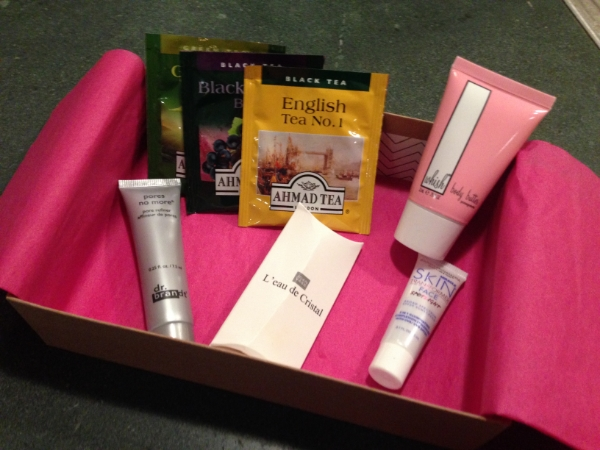 { My first Birchbox gift box from BF Hank Taylor for our 1 year anniversary }