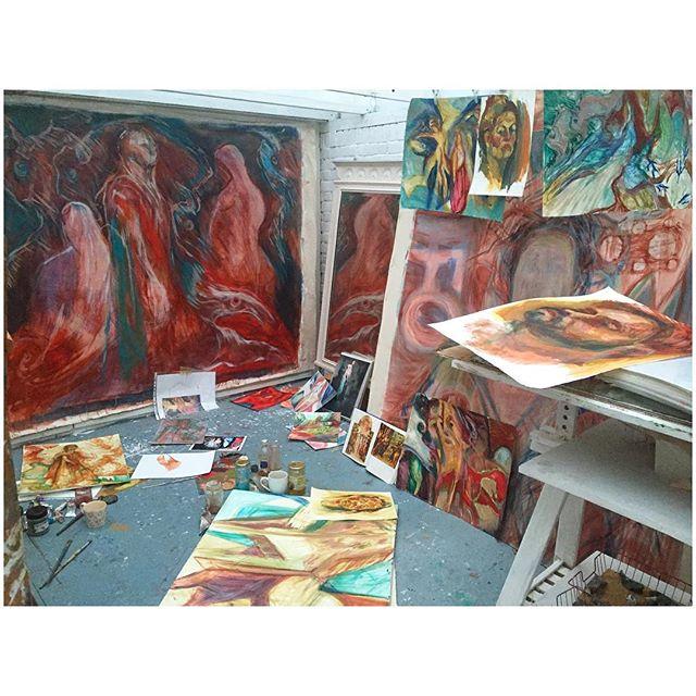 Painting Essex.