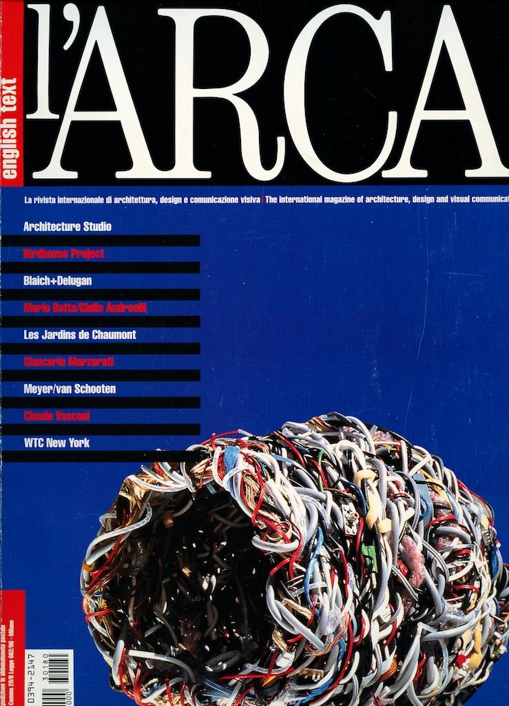 L'ARCA Cover, April 2003.jpg