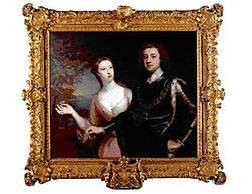 Portrait of The Duke and the Duchess of Richmond, by Jonathan Richardson