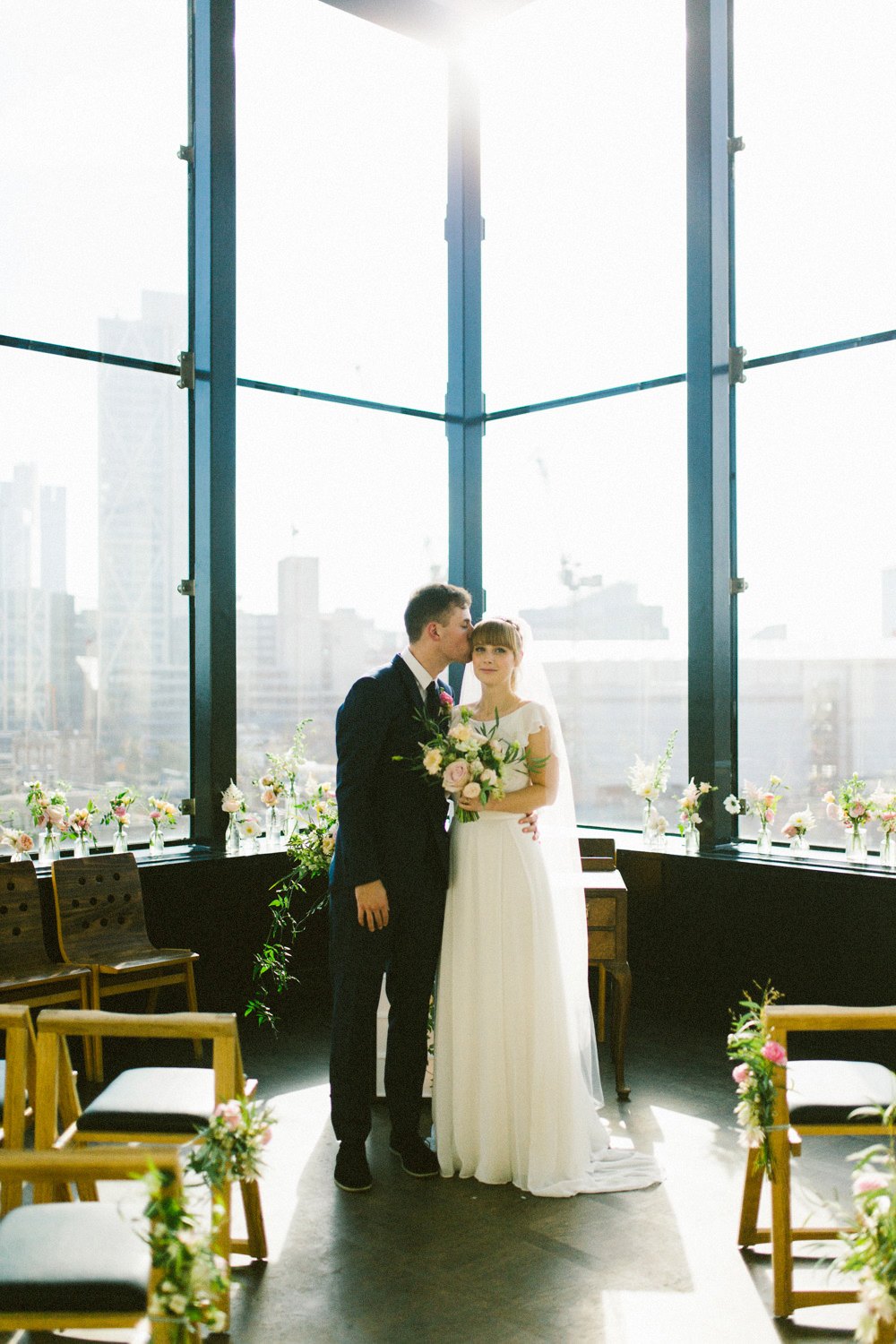Ace hotel london wedding portraits