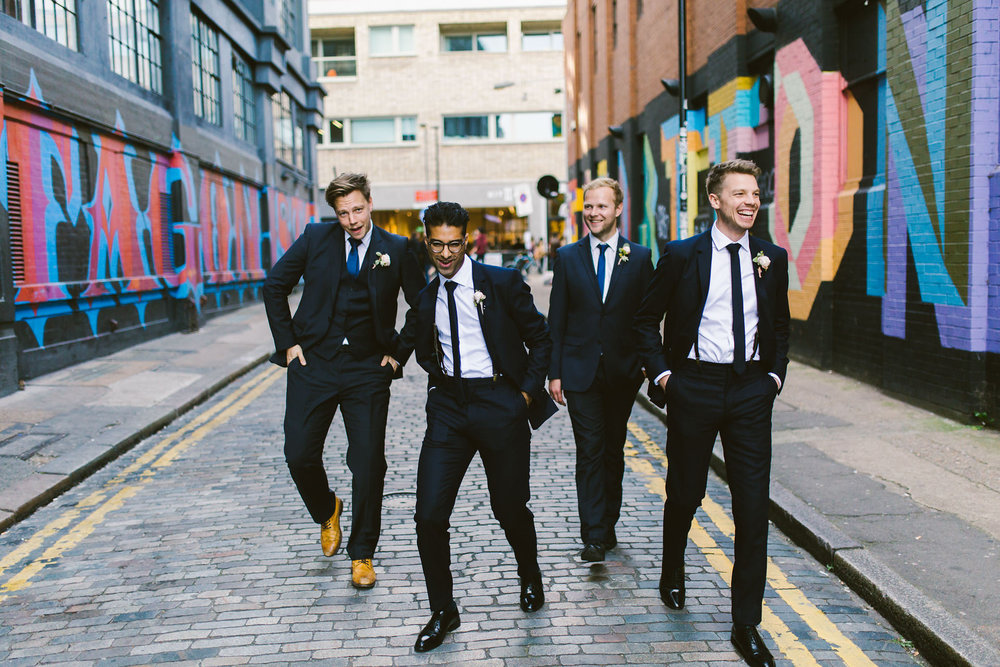 Ace hotel london wedding - Shoreditch wedding portraits