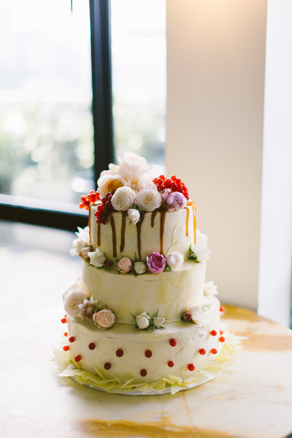 Ace hotel london - wedding cake
