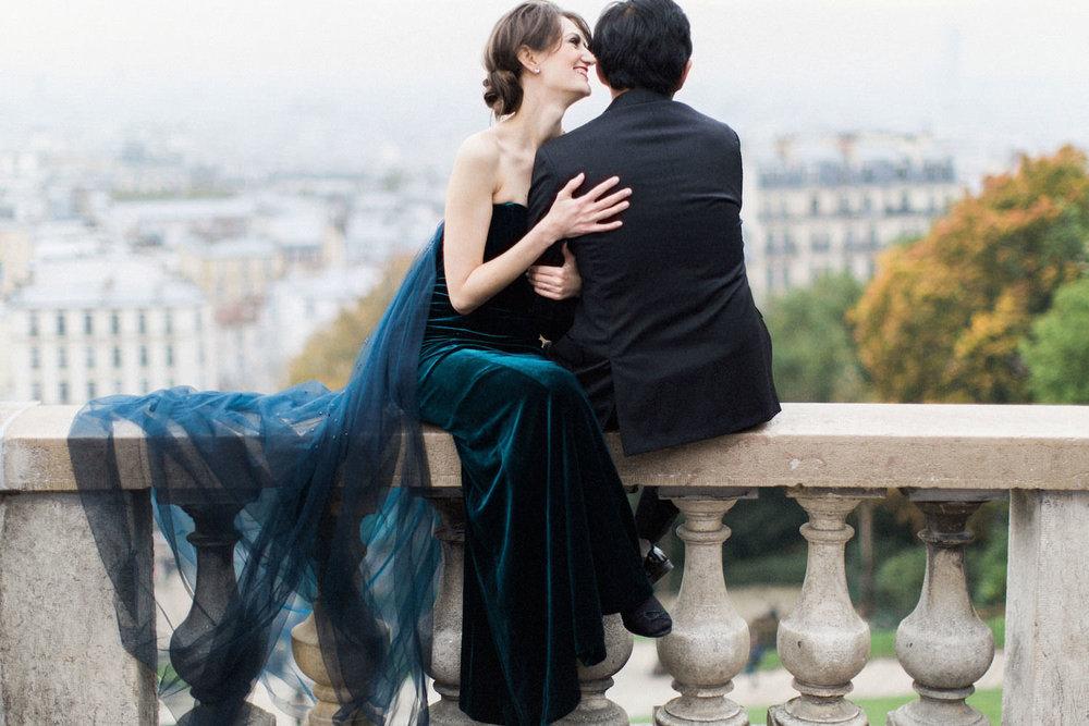Stephanie & Ruchit Paris