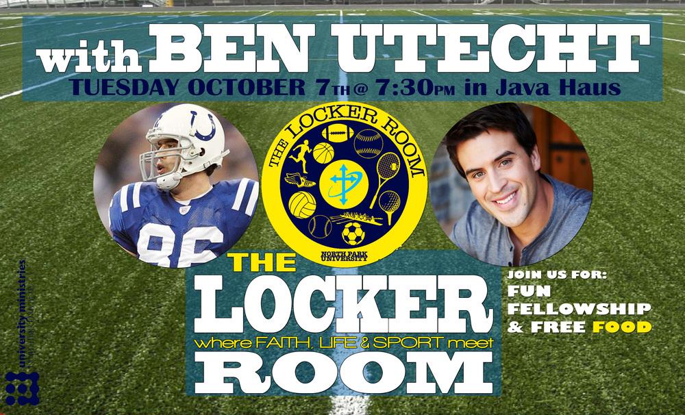 Ben Utecht @ The Locker Room