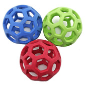 Hollee Ball - place chews or squeaky balls inside. Better than a walk in the park!