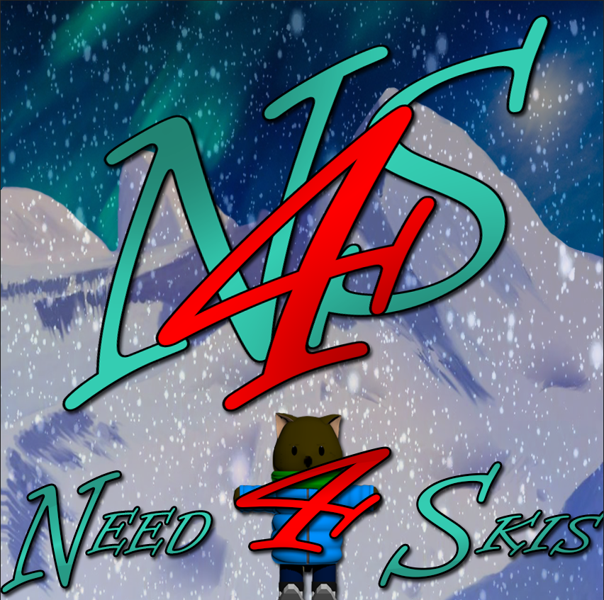 Need 4 Skis Logo.