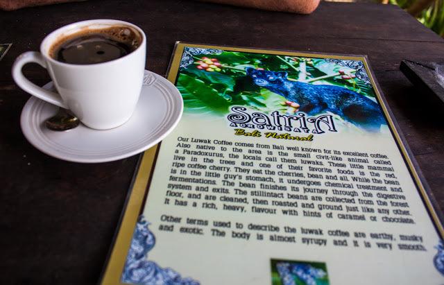 The Luwak Coffee was pretty good!