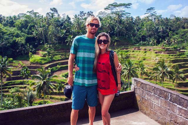 Enjoying a moment atTegalalang rice terraces.