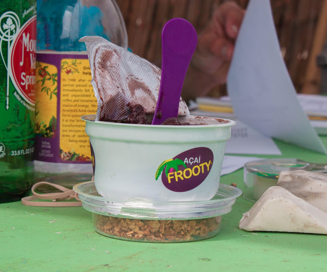 Frooty Acai for snacks!