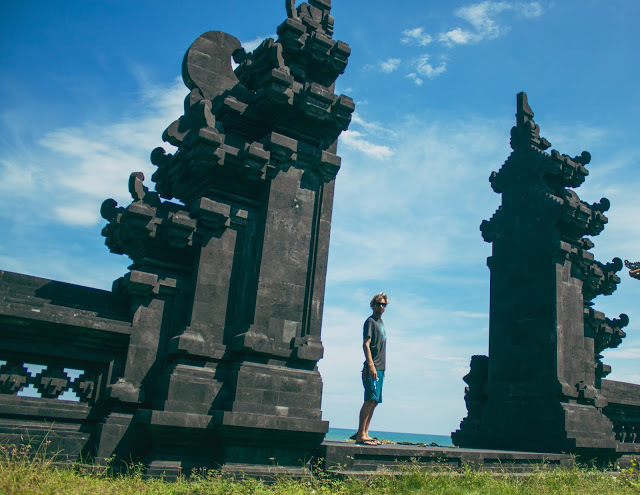 More scenic views from the Canggu Temple