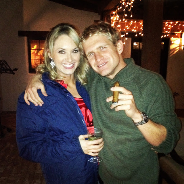 One of my best guy friends Alex and his beautiful girlfriend Kat. Great times on Christmas night.