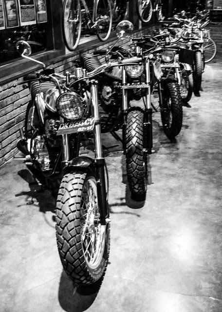 Custom motos for days