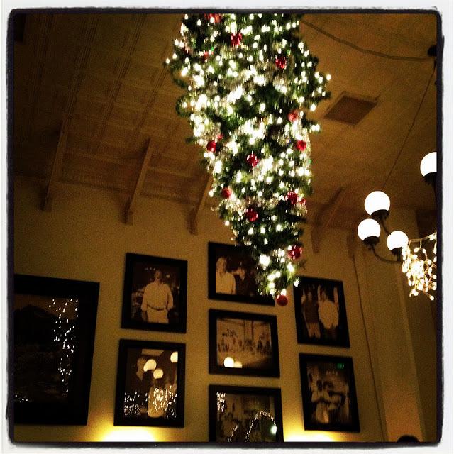 Nights at  Joe's Cafe during the holiday season.