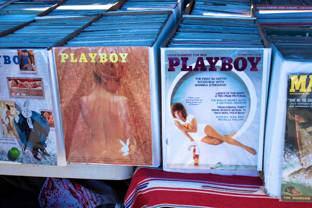 Ok here is where is gets hard for me, Vintage PlayBoy magazines.... OMG