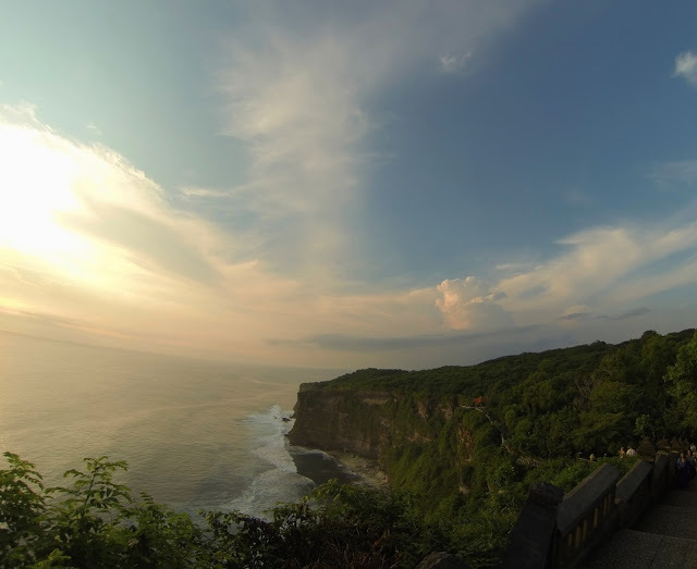 The view from Uluwatu Temple