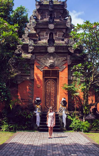 The Ubud Palace.