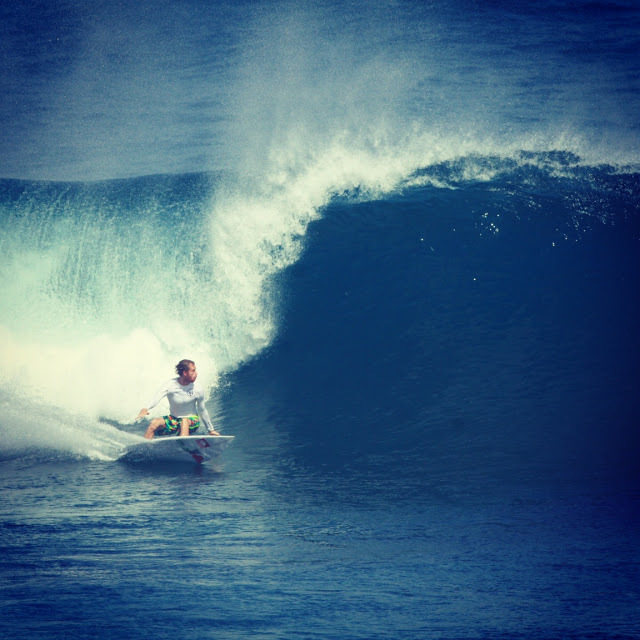 Kilian on a good one at Uluwatu