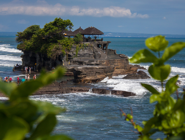 Tanah Lot Temple from the hill just above. Part two coming up next. Next stop Padang Padang and the Bukit Peninsula.